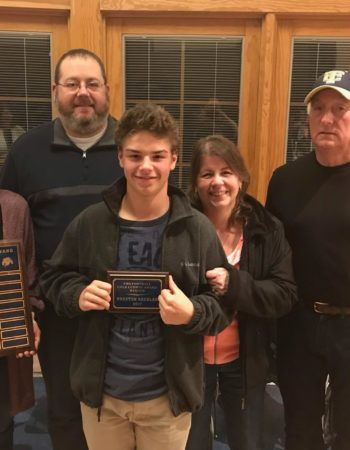 First annual 'Cole Ludwig Award' presented to TMS student