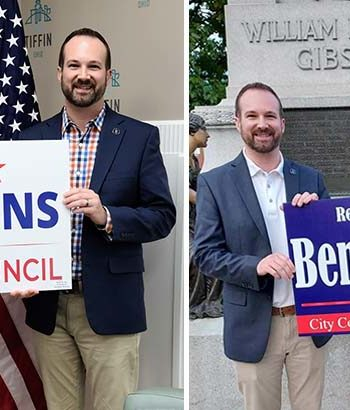 Montz endorses Tiffin City Council members Perkins, Gillig for reelection