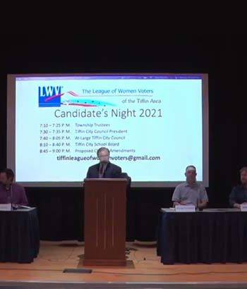 Tiffin Board of Education candidates discuss Hall of Fame, school funding, and more during LWV forum